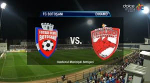 FC Botosani - Dinamo Bucuresti