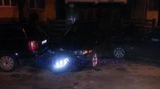 accident pe strada Imparat Traian - municipiul Botosani