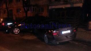 accident pe strada Imparat Traian -municipiul Botosani