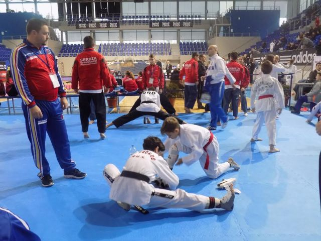 CS Real Taekwondo Team Botosani la balcaniada- Serbia