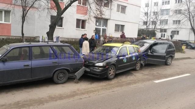 accident pe strada Imparat Traian- Botosani