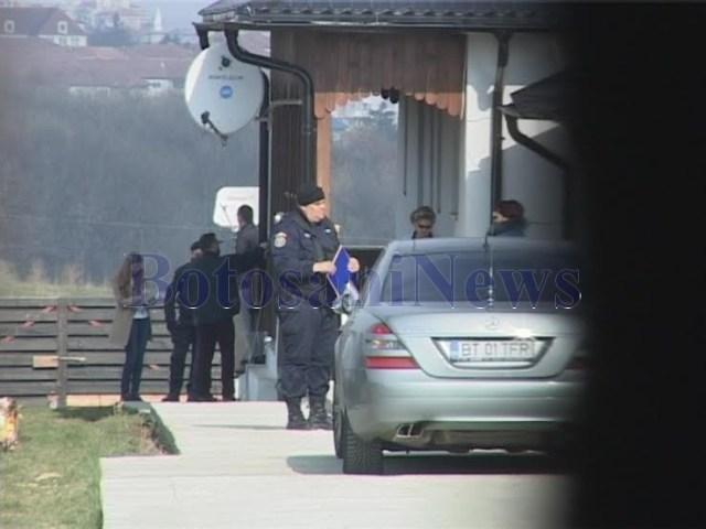 anchetatori acasa la florin turcanu- casa de pe strada Pajistei - Botosani