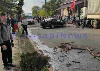 accident grav in Darabani- Botosani