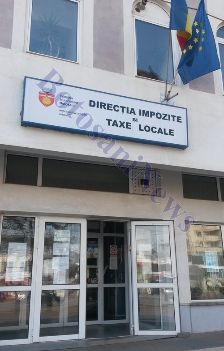 directia de impozite si taxe locale Botosani