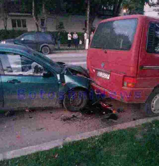 accident pe strada Pacea Botosani