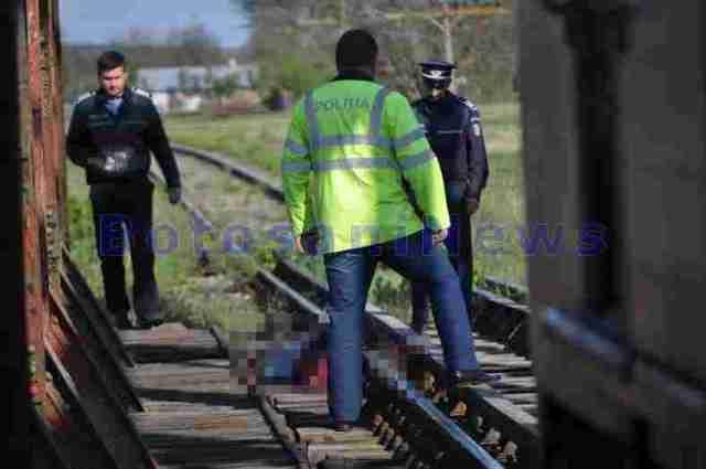 accident tren Broscauti - Botosani