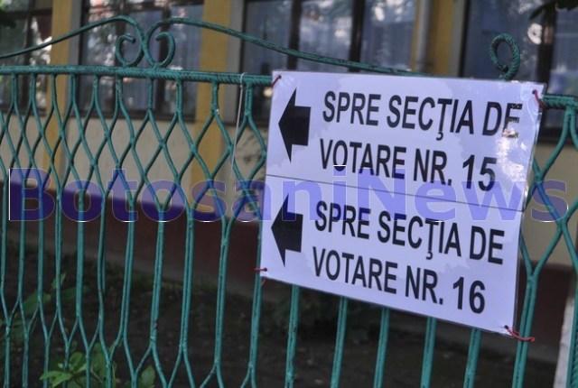 alegeri locale 2016- sectie de votare - urna- botosani