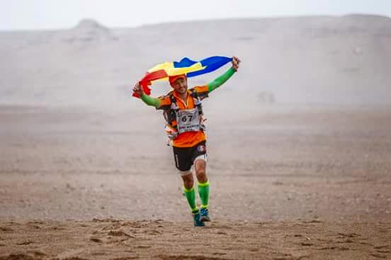 iulian rotariu - la maratonul Gobi