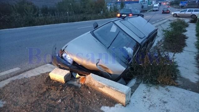 accident cap de pod la Hudum- Botosani