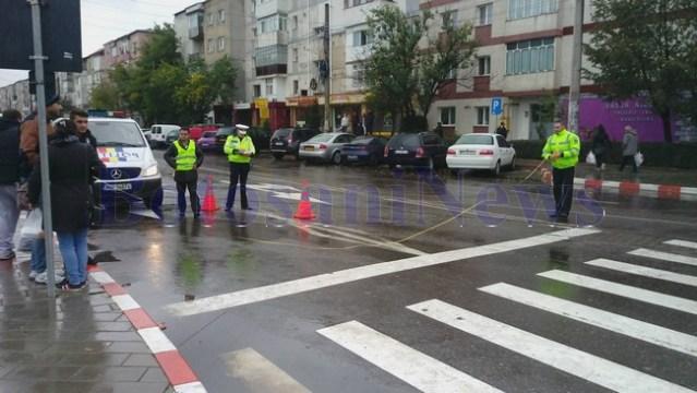 politisti-accident-trecere-pietoni botosani