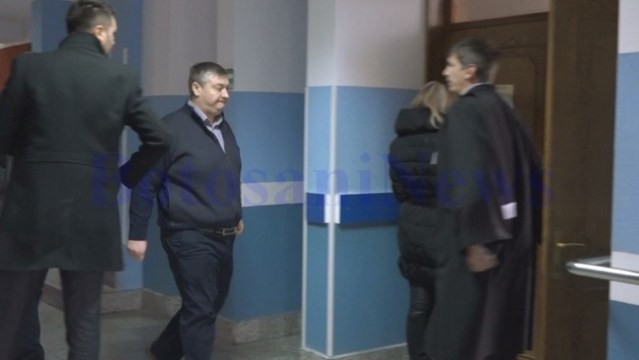 Florin Turcanu la proces la Tribunalul Botosani