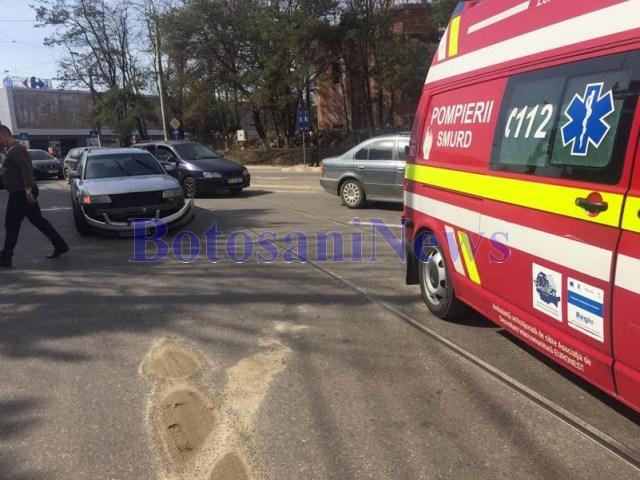 accident SMURD Botosani