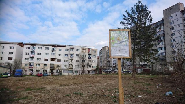 teren constructii bloc strada izvoarelor Botosani- investiror Formens