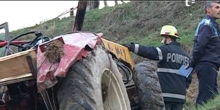 tractor rasturnat, stiri, botosani