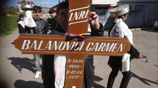 inmormantare procuror Carmen Balanovici Parchetul Botosani