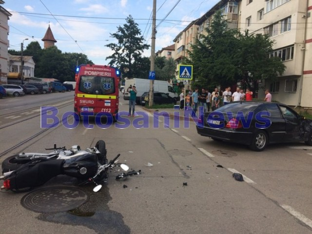 accident grav- motocicleta- botosani