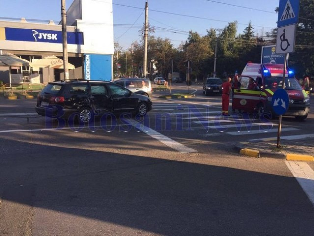 accident smurd carrefour botosani