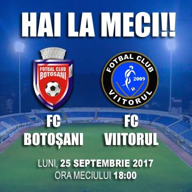 FC Botosani- Viitorul Constanta