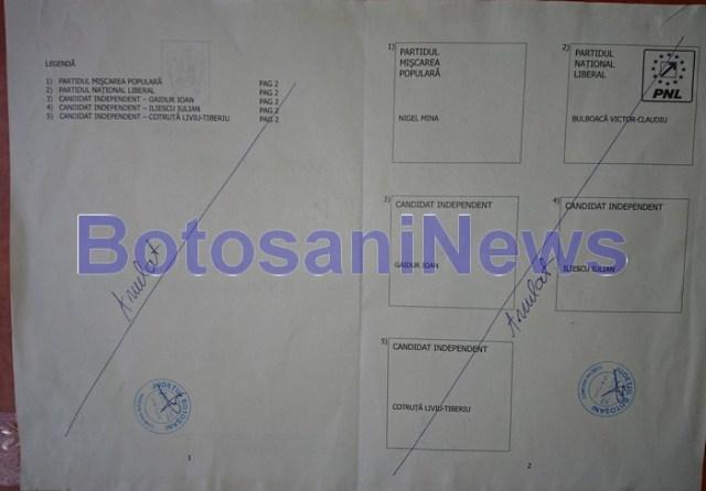 primaria nicseni, stiri, botosani, alegeri locale partiale