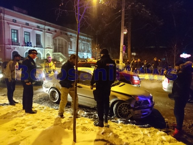 accident, bulevardul mihai eminescu, stiri, politie, botosani