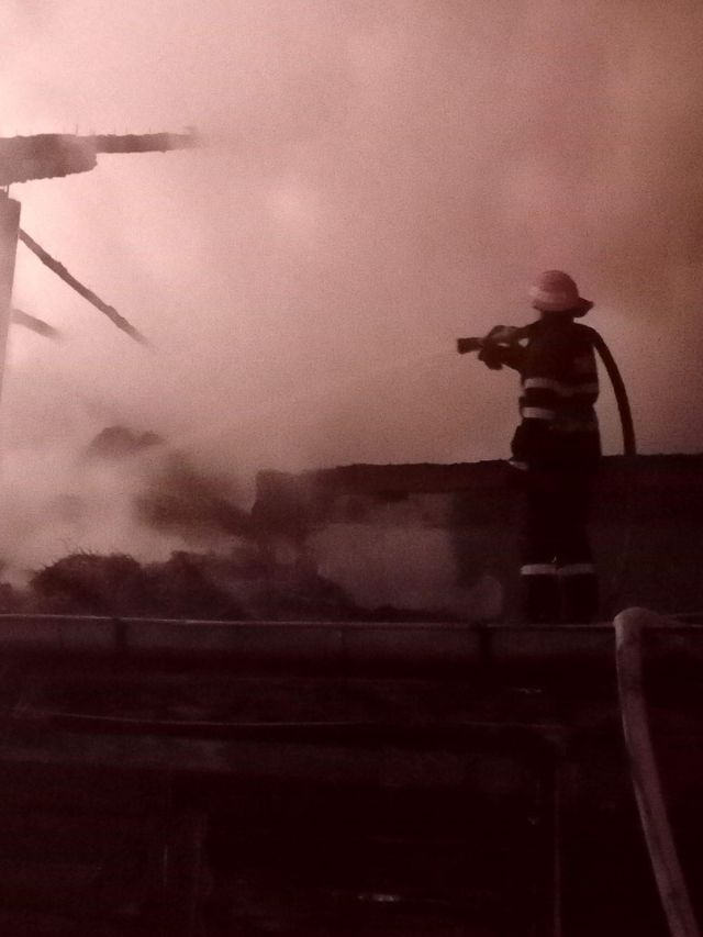 incendiu, furaje, stauceni, victoria, stiri, pompieri, botosani noaptea (5)