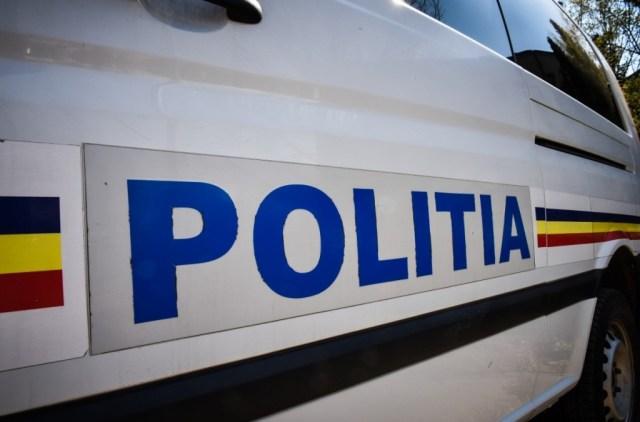 Echipaj de poliție la Botosani