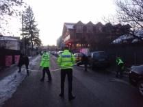 Accidentul a avut loc pe strada Vânătorilor
