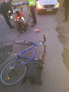 accident de bicicleta la Todireni- Botosani