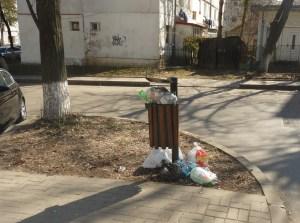 gunoi menajer aruncat la cos stradal la Botosani