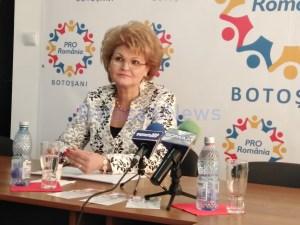 mihaela hunca - deputat Pro Romania de Botosani