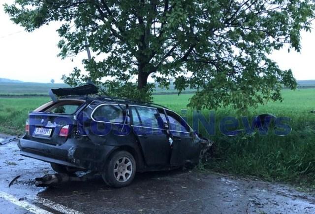 accident Santa Mare- Botosani