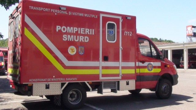 autospeciala de transport victime multiple