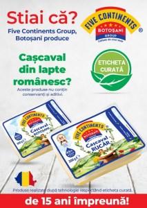 Five Continents Group Botosani- cascaval