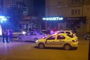 accident cu cinci masini avariate pe strada Grivita Botosani