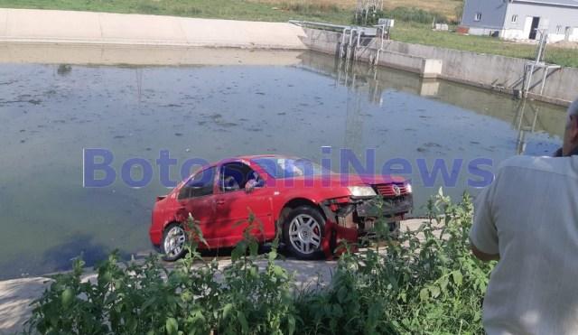 accident strada Puskin- Botosani