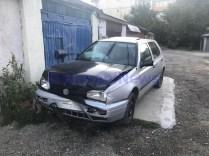 accident cu autoturism tip Scoala la Dorohoi -Botosani