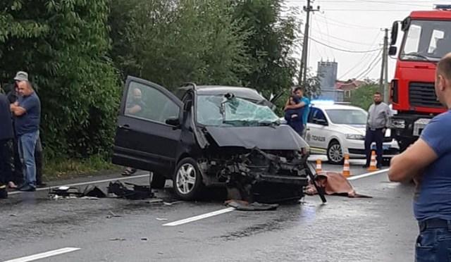 accident cu un sofer din Botosani mort la Cernauti