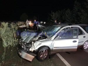accident grav dintre o caruta si un aututorism in comuna Ungureni - Botosani