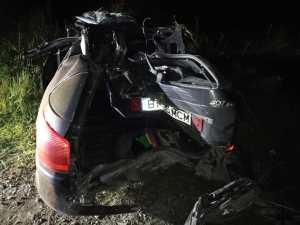 accident grav in localitatea Ionaseni din comuna Trusesti- Botosani (2)