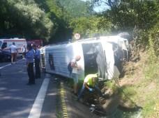 accident grav produs la Valcea 4