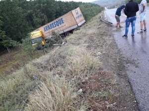 camion in rapa la Botosani