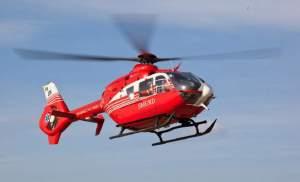 elicopter smurd la Botosani
