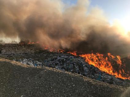 incendiu groapa stauceni (1)