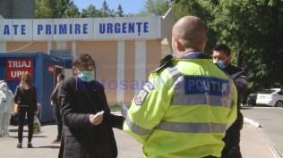 politie jandarmi bolnav covid spitalul judetean 0