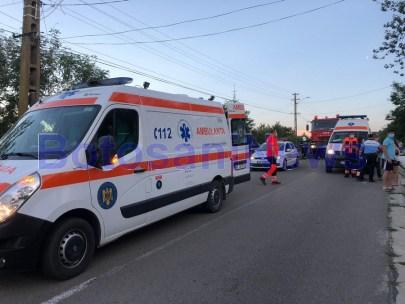 accident- politie - ambulanta - botosani