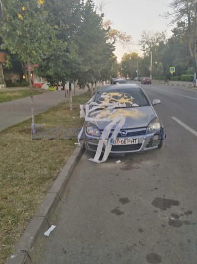 masina cu hartie igienica, masina vandalizata, stiri, botosani (3)