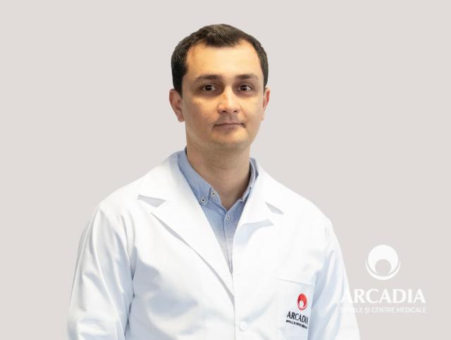 Dr. Cătălin Constandache, medic primar Urologie, Arcadia