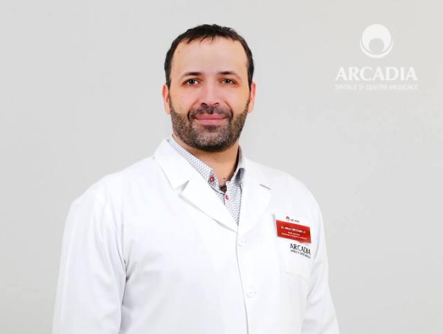 Dr. Mihai jr. Crețeanu, medic primar Radiologie și Imagistică Medicală, Arcadia