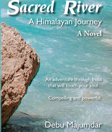 Cover picture of a novel of a spiritual journey to India disguised as a gold heist mystery