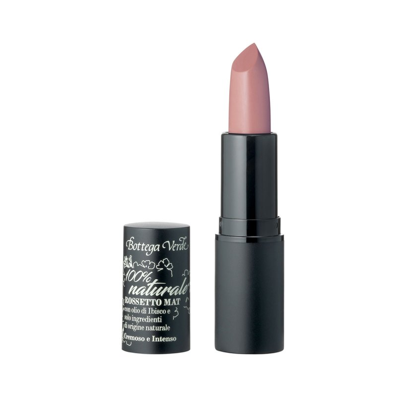 Bright matte Lipstick* - with Hibiscus oil - creamy and rich